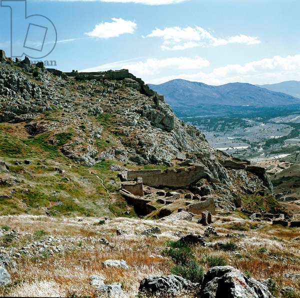 Ancient Greece: panoramic view of the Acropolis, Greece