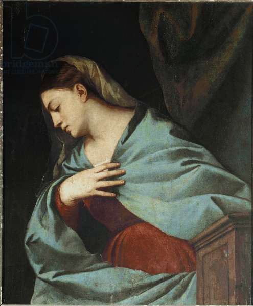 Polyptych Averoldi: Virgin Announced, 1520-22 (oil on board)
