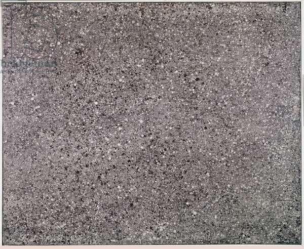 Texturology XX (oil on canvas, 1958)