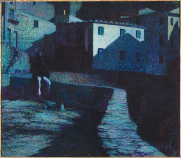 The house of sighs, 1906 (oil on canvas)