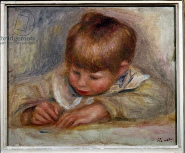 Coco writer, 1906 (oil on canvas)