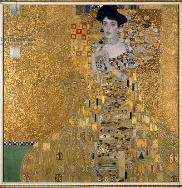 Portrait of Adele Bloch-Bauer (Bloch Bauer), 1907 (oil on canvas)