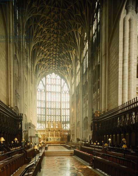 View of the choir, 1337-1367 (photography)