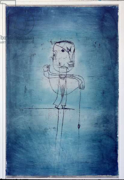 The Angler Painting by Paul Klee (1879-1940) 1921 New York, Museum of Modern Art