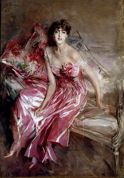 Portrait of Madame Olivia Concha de Fontecilla or the Lady in Pink, 1916 (painting)