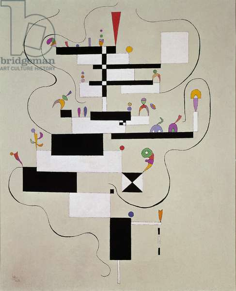 Etencore Painting by Vassily Kandinsky (or Wassily Kandinski or Kandinskij, 1866-1944) 1940 Bern, Kunstmuseum