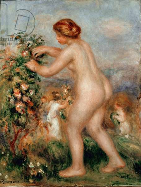 Ode to flowers, 1903-1909 (Oil on canvas)