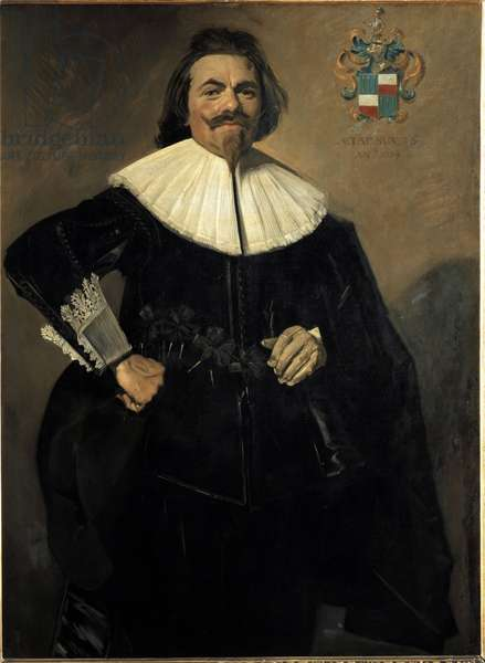Portrait of Tieleman Roosterman, Dutch trader (Painting, 1634)