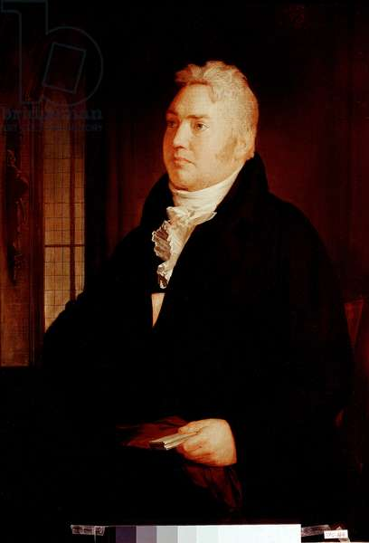 Portrait of Samuel Taylor Coleridge, 19th century (painting)
