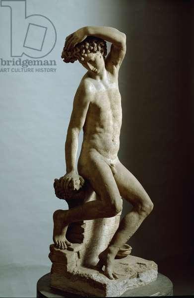 Narcissus Sculpture by Benvenuto Cellini (1500-1571), Italian manierist, 1548-1565 Dim. 149 cm. Florence. Museo Nazionale del Bargello