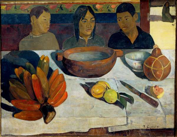 The Meal or Bananas, 1891 (oil on canvas)