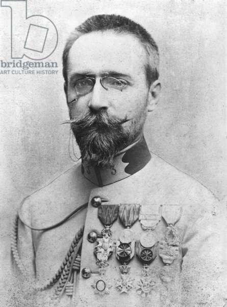 Francois Lamy (1858-1900) late 19th century (b/w photo)
