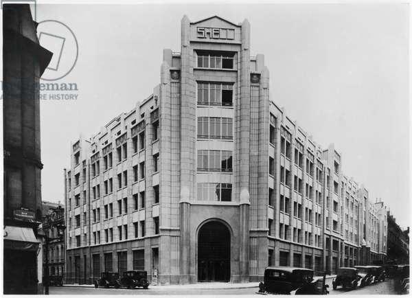 Shell Building, c.1929-32 (b/w photo)