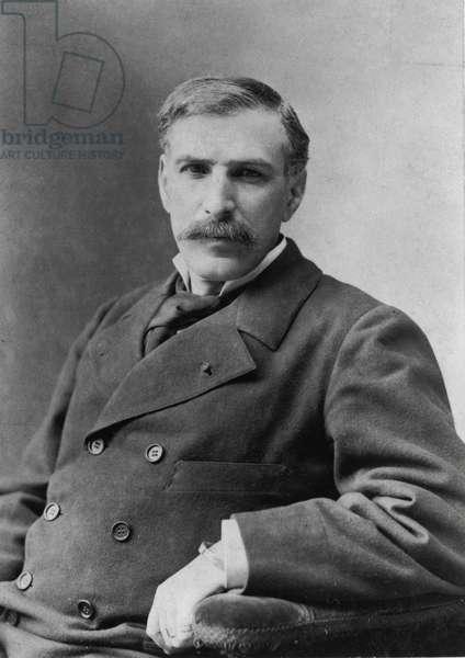 Pierre Savorgnan de Brazza, c.1900 (b/w photo)