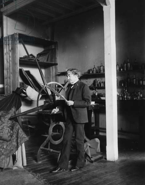 James Whistler (b/w photo)
