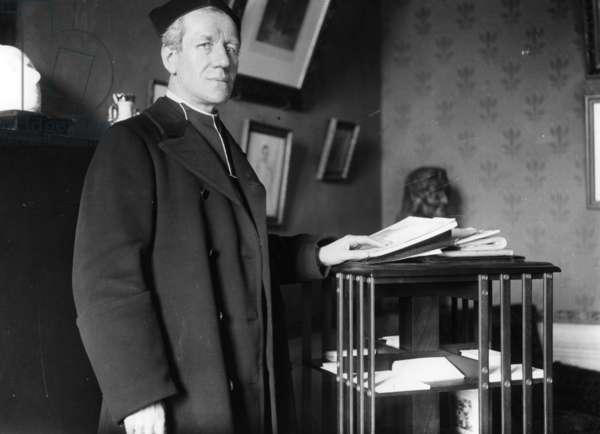 Jules Auguste Lemaitre (b/w photo)