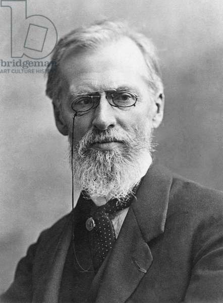 Albert Robida (1848-1926) (b/w photo)
