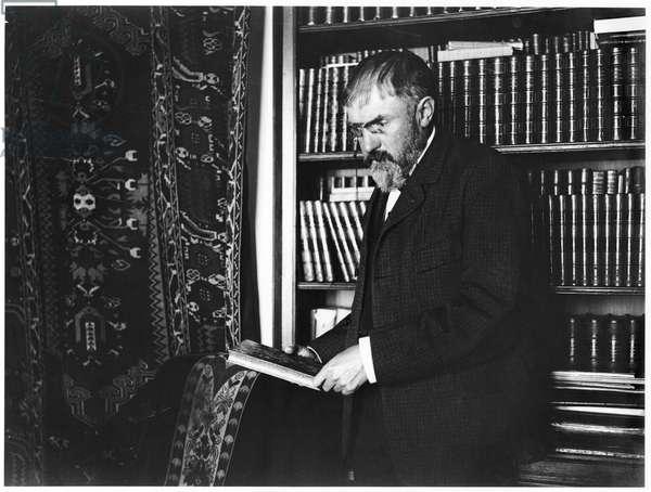 Henri Poincare (1854-1912) (b/w photo)