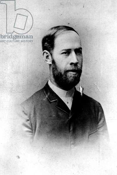 Heinrich Hertz, c.1890 (b/w photo)