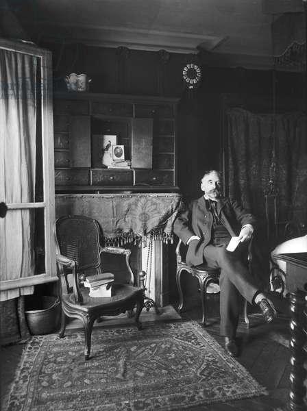 Stephane Mallarme (1842-98) (b/w photo)