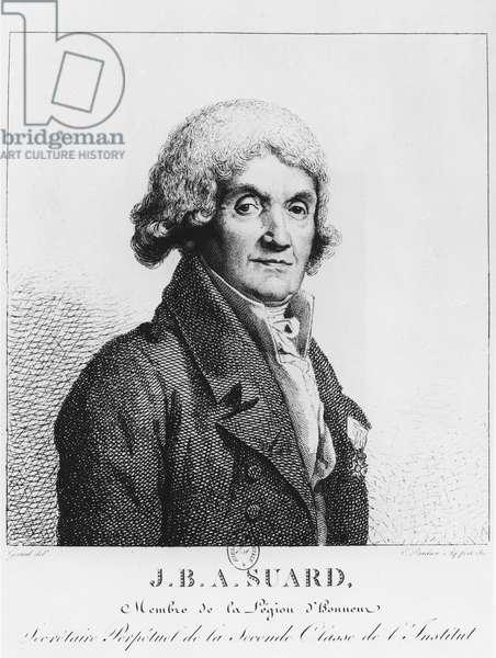 Jean-Baptiste-Antoine Suard (engraving)