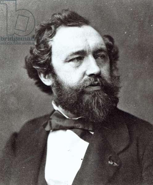 Adolphe Sax (b/w photo)