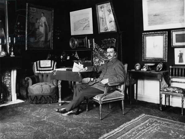 Vincent d'Indy (1851-1931) (b/w photo)