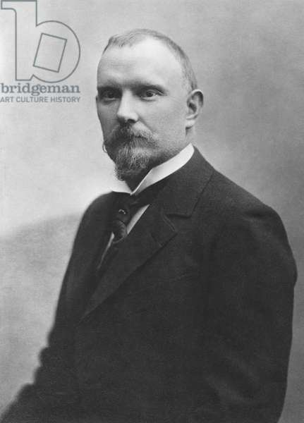 Jules Renard (1864-1910) (b/w photo)