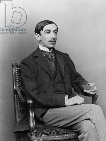 Maurice Barres (1862-1923) late 19th century (b/w photo)