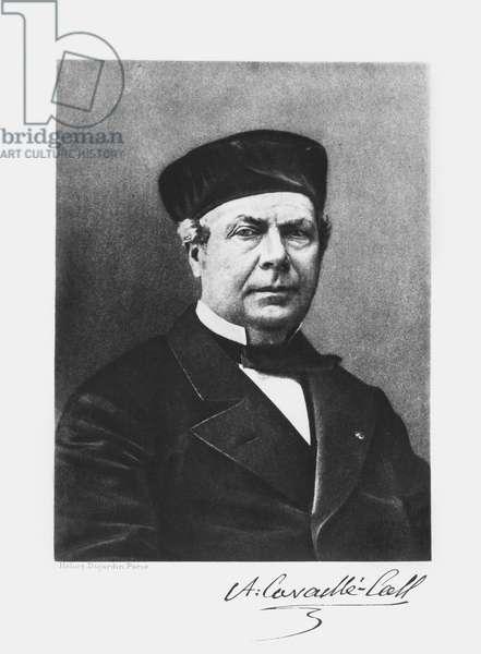 Portrait of Aristide Cavaille-Coll (1811-99) (photolitho) (b/w photo)