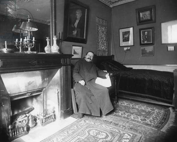 Jules Massenet (b/w photo)