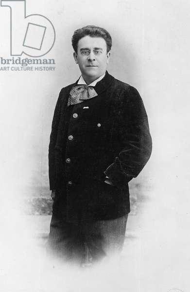 Portrait of Louis Foucard, 1901 (b/w photo)