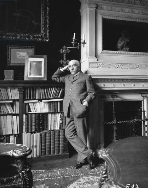Portrait of Georges Clemenceau (photo)