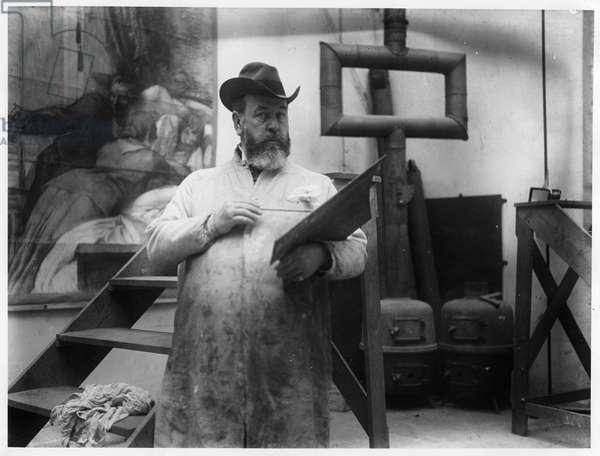 Paul Albert Besnard (b/w photo)