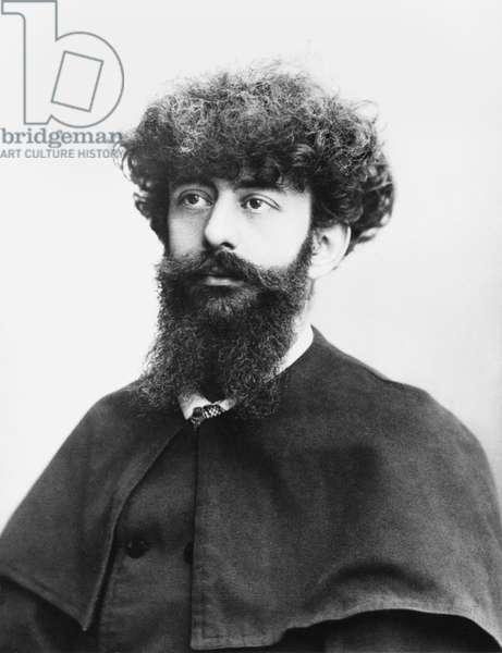Joseph Peladan (1858-1918) (b/w photo)