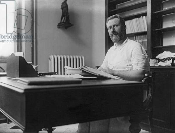 Pierre Delbet, French surgeon (b/w photo)