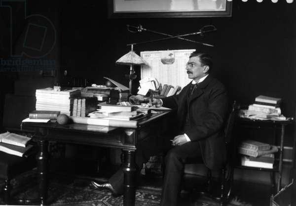 Ferdinand Brunetiere (b/w photo)
