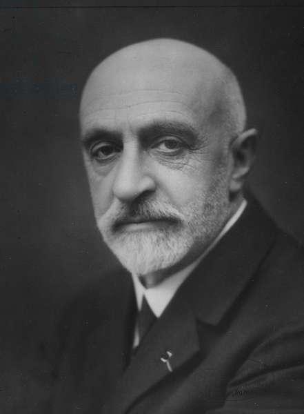 Portrait of Jean Charcot, c.1934 (b/w photo)
