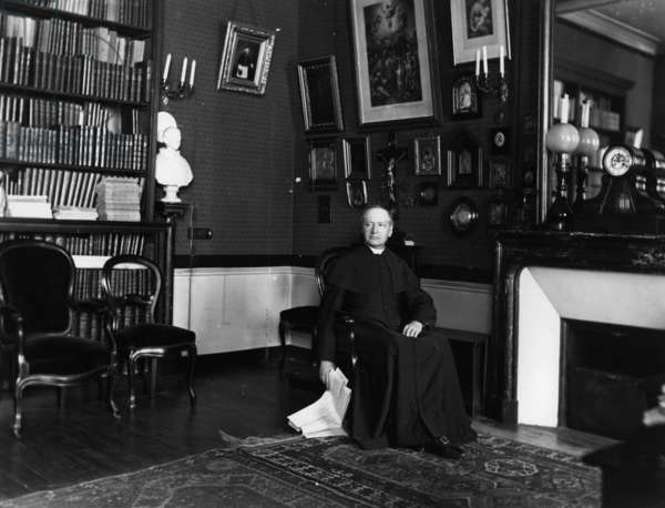 Monseigneur d'Hulst (b/w photo)