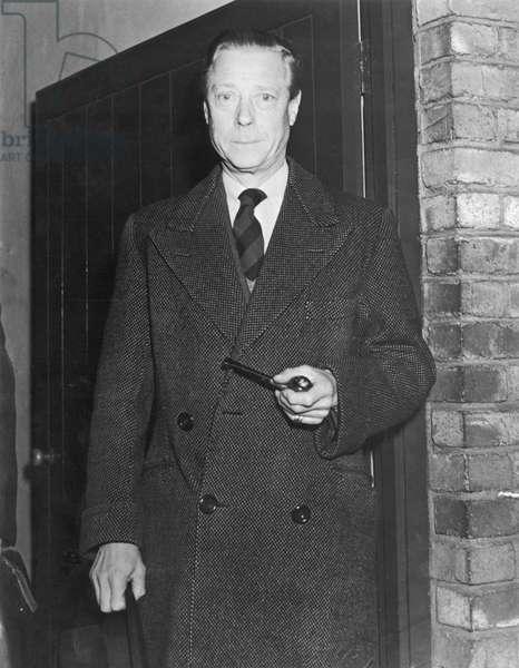 The Duke of Windsor, c.1945 (b/w photo)