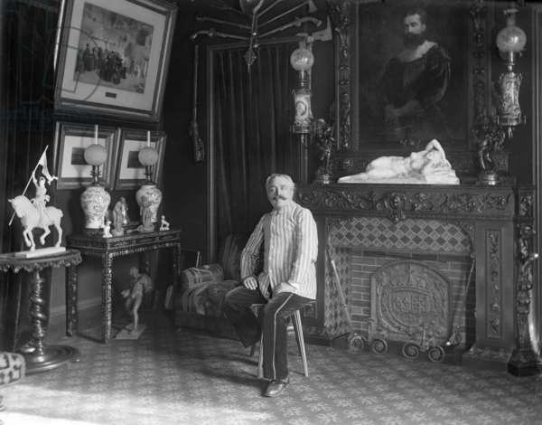 Daniel Illfa Osiris (1828-1907) late 19th century (b/w photo)