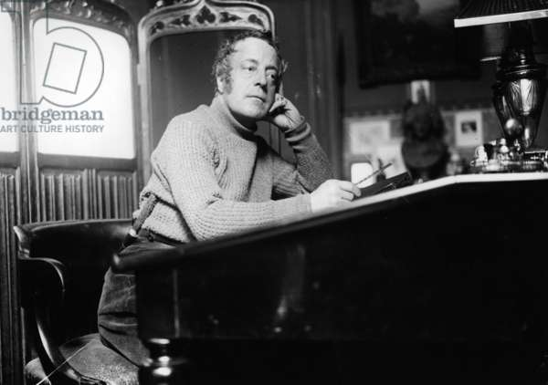 Adolphe Willette (b/w photo)