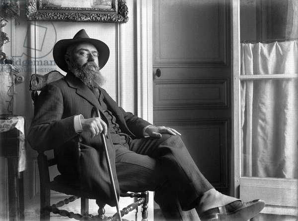 Francis Jammes (1868-1938) (b/w photo)