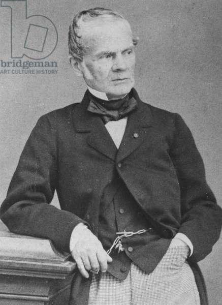 Alfred-Auguste Cuvillier-Fleury, c.1860 (b/w photo)