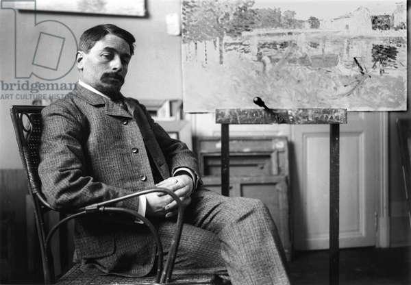 Henri Lebasque (1865-1937) (b/w photo)