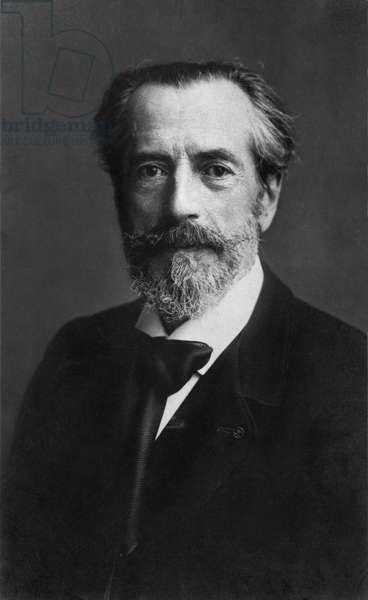 Frederic Auguste Bartholdi (1834-1904) (b/w photo)