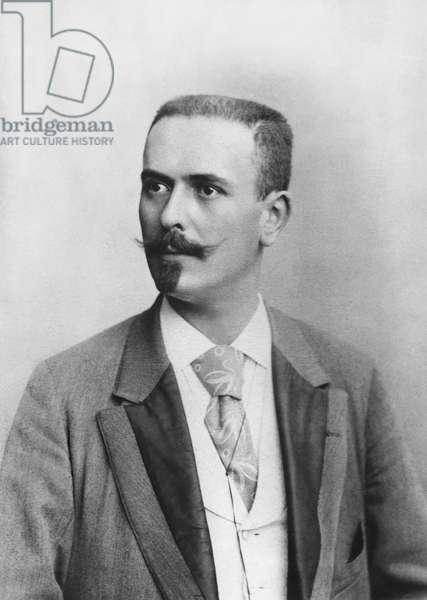Paul Bonnetain, late 19th century (b/w photo)