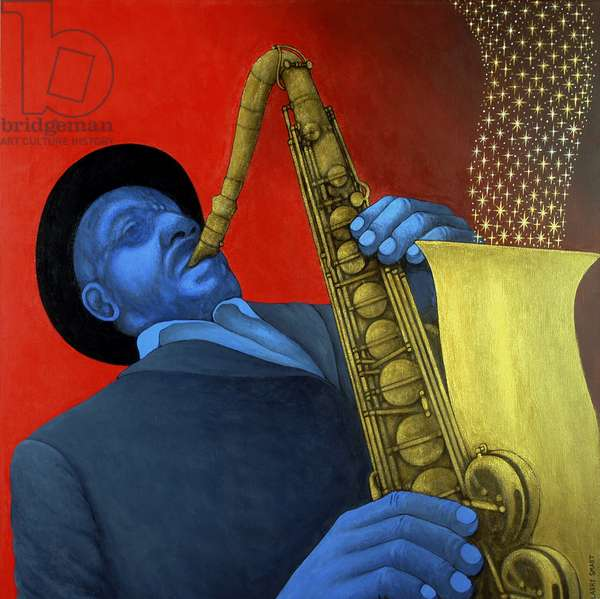 Ben Webster (1909-73) (acrylic on linen)