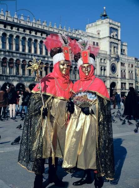 Carnival, Saint Mark's Square (photo)