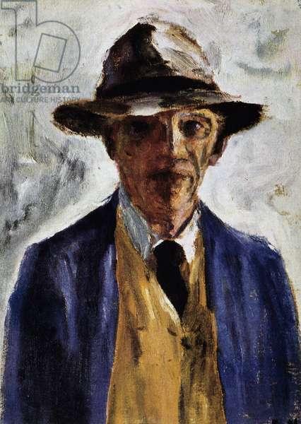Self-portrait, painter of Emil Nolde.